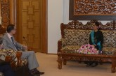 State Counsellor, Australian Ambassador discuss bilateral cooperation
