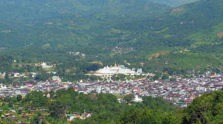 Mogoke City, emerge ruby a lot, is one of Myanmar famous city in Myanmar.