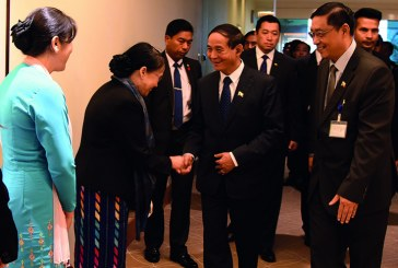 President in Singapore for 32nd ASEAN Summit
