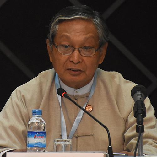Union Minister U Kyaw Tint Swe