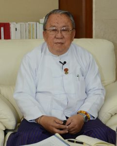 Governor of the Central Bank of Myanmar U Kyaw Kyaw Maung.