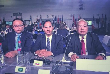 Union Minister U Thaung Tun attends IX International Meeting of High-Ranking Officials Responsible for Security Matters