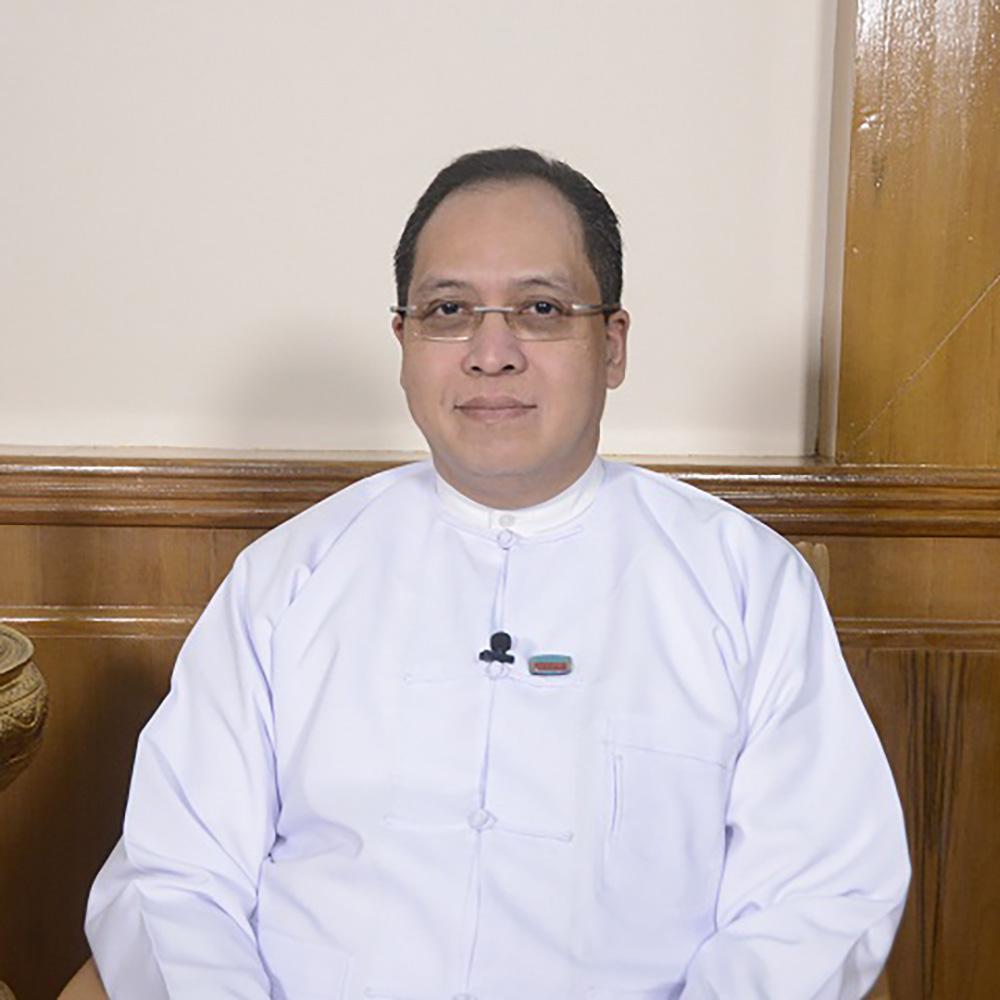 Deputy Minister U Set Aung. photo: mna