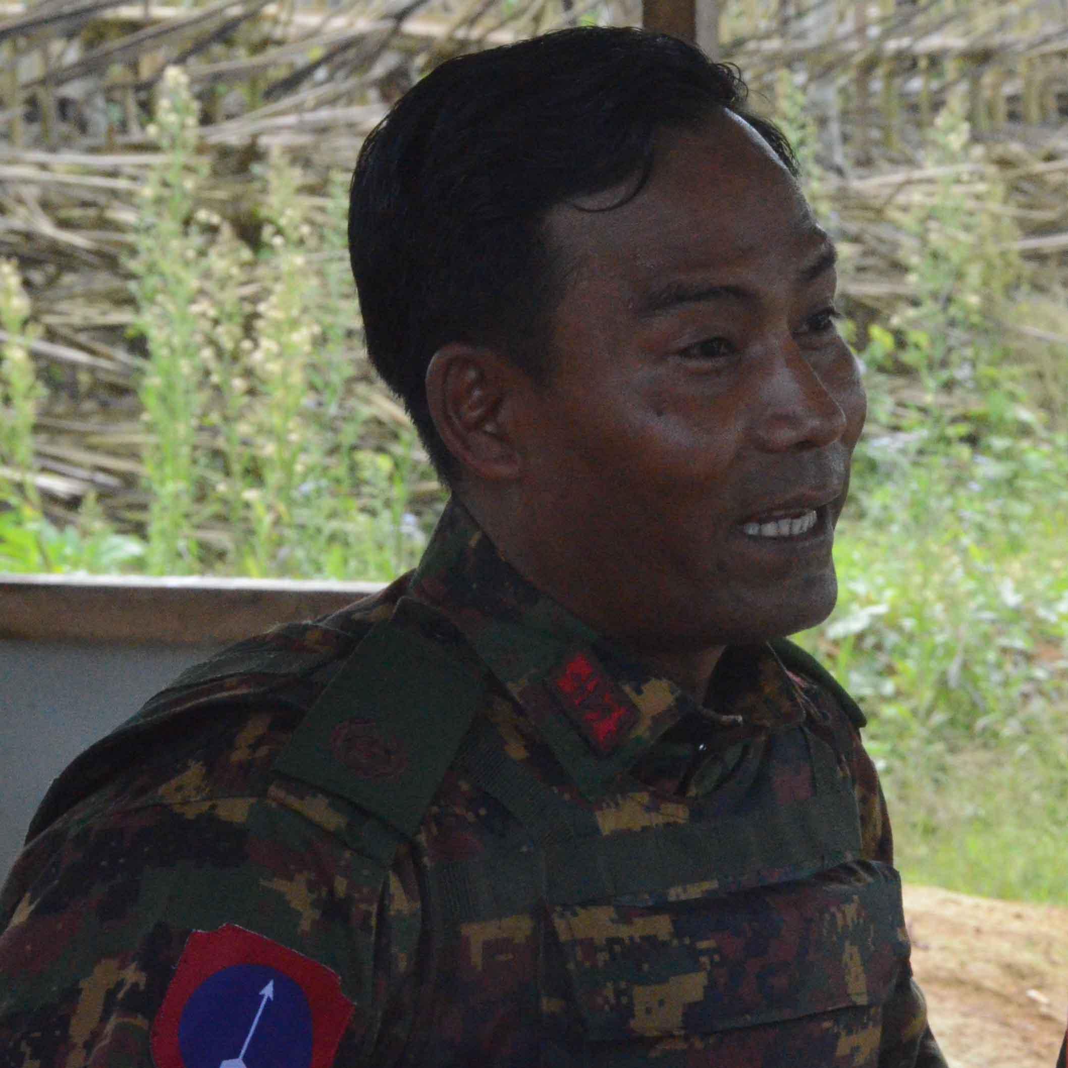 Brig-Gen Kyaw Soe Min.