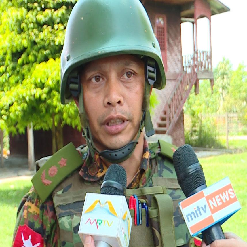 Lt-Col Soe Htet.