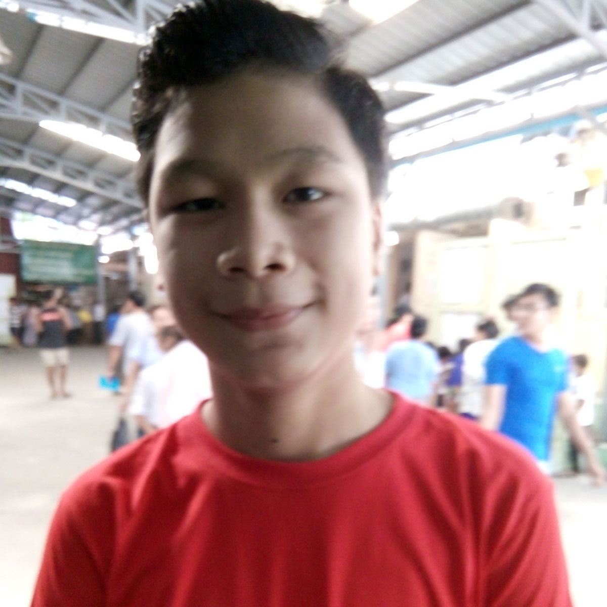 Maung Aung Khant Min, Grade -9 student, B.E.H.S (4), Pazundaung