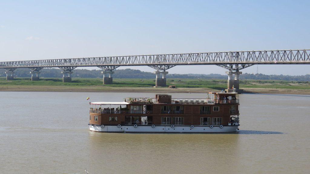 The Ayeyawady bridge (Magway). Photo: Zeyya Tu (Magway)