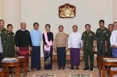 Meeting held to discuss Rakhine issue, national security, international relations