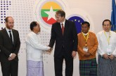 VP U Myint Swe attends second Myanmar-EU Economic Forum