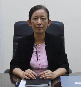 Director General Daw Tin Moe Moe.