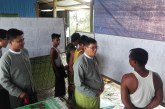 Union Election Commission inspects Yathedaung constituency