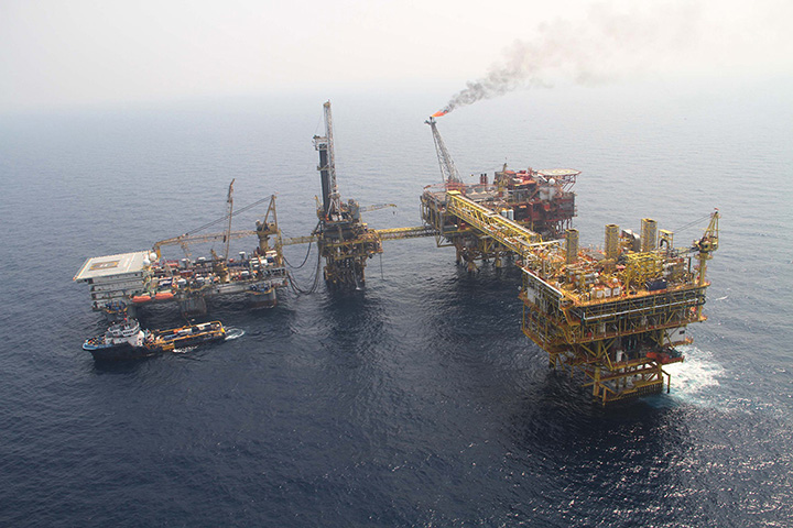 IMG 7942 Yedagun offshore natural gas rig. Photo Supplied by Ministry of Energy copy