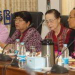Pyidaungsu Hluttaw Deputy Speaker and Joint Bill Committee Chairman U Tun Tun Hein attends the meeting.Photo: MNA