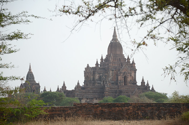 DSC 0682 File photo shows the view of Bagan Mandalay Region. Photo Phoe Khwar copy