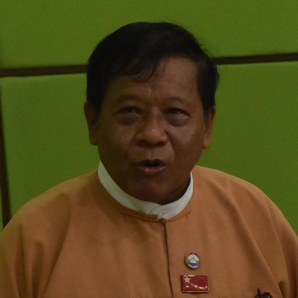 Dr. Zaw Myint Maung.