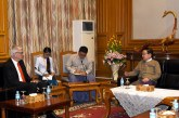 Pyithu Hluttaw Speaker receives Danish Ambassador