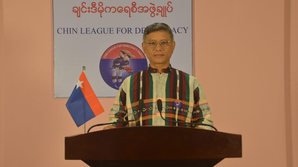 Salai Wom Za Pyaung, General Secretary of Chin League for  Democracy Party.