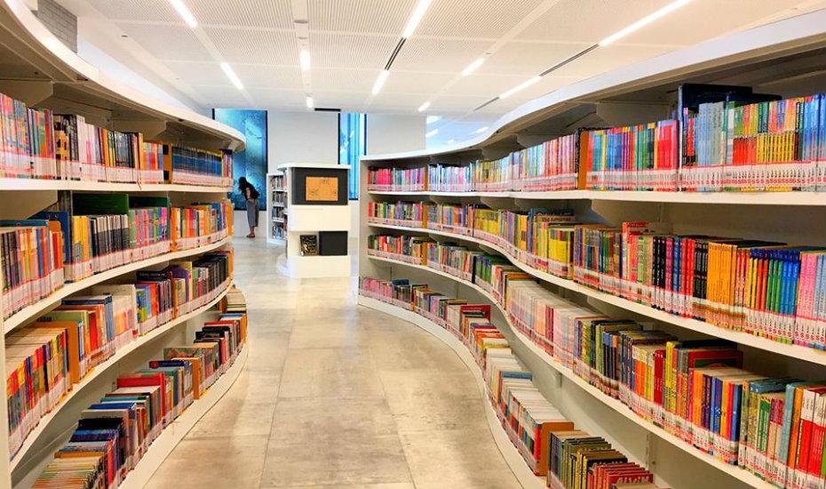 baey yam kheng singapore tampines regional library opening