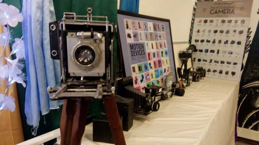 First antique cameras exhibition to be held in Yangon from 19 to 21 October.Photo: Thi Thi Min