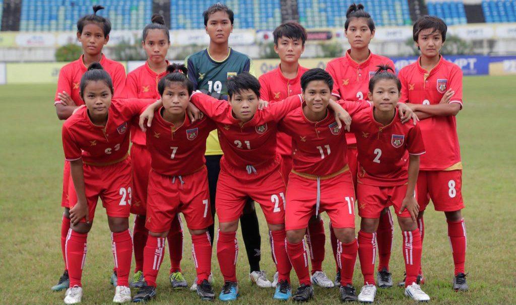 Myanmar U-19 women's football team.photo: supplied