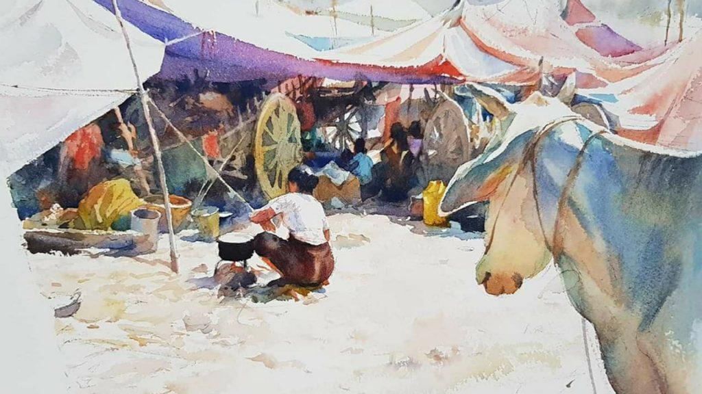 Artist Tin Htay Aung 2 72