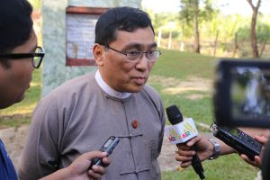 Union Minister for Social Welfare, Relief & Resettlement Dr. Win Myat Aye.Photo: Soe Aung
