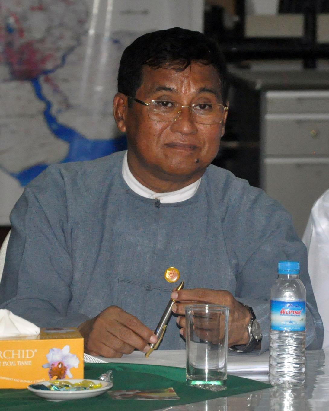Deputy Minister U Soe Aung