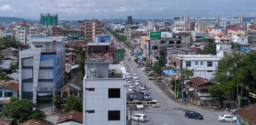 The market for rented apartments located in Chanayethazan Township in Mandalay.Photo : Supplied