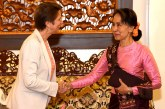 State Counsellor receives UNSG's Special Envoy  on Myanmar