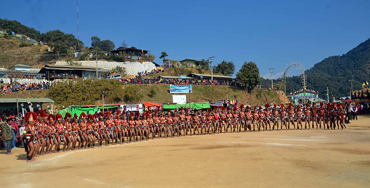 Naga New Year Festival attracts tourists - Global New Light Of Myanmar