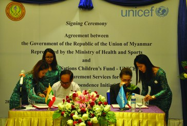 MoHS, UNICEF sign agreement on 'The Vaccine Independence Initiative (VII)'