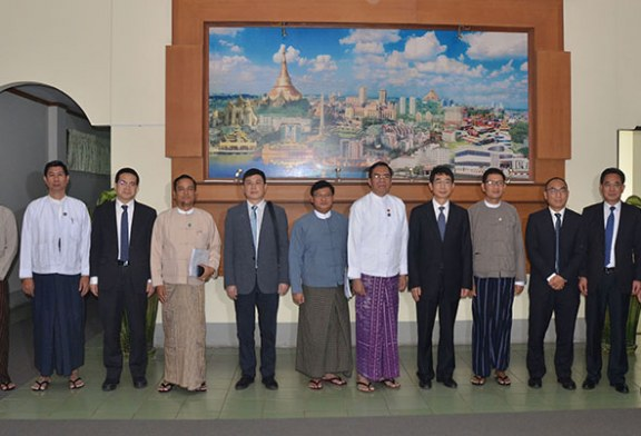 Deputy Minister for Information receives Yunnan Provincial Party delegation
