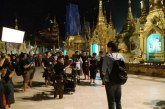 Scenes of Line Walker -2  shot at Shwedagon Pagoda, YMCA Hall