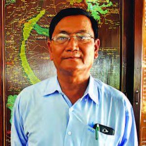 U Aung Bo (Director, Taung Nawin Dam)