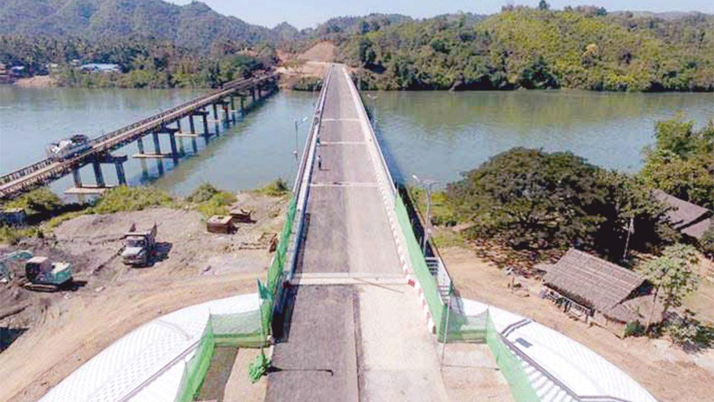 Darlet Creek Bridge.PHOTO: Tin Tun (IPRD)