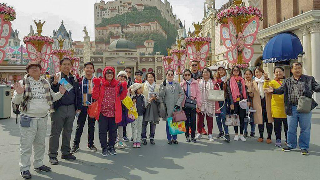 Myanmar travelers in Korea. Photo: Supplied