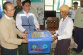 Nay Pyi Taw Council Chair provides aid to blown down houses in Ottarathiri Tsp
