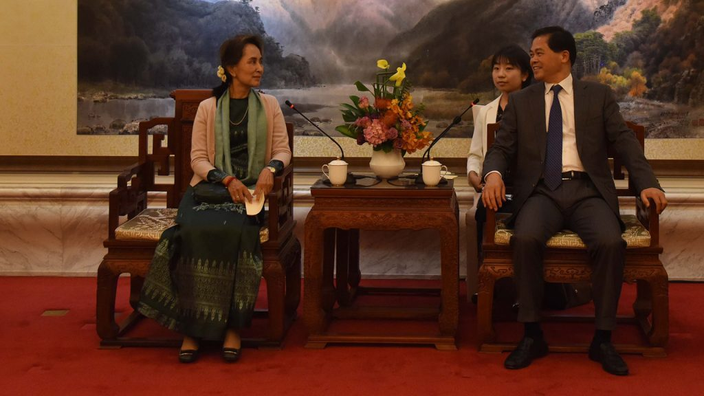 State Counsellor meets secretary of Yunnan communist party, arrives in Phnom Penh