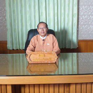 Nay Pyi Taw Council Chairman  Dr.  Myo Aung