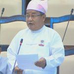 MP Dr. Myat Nyana Soe.