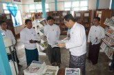 MoI Deputy Minister inspects Loikaw Community Centre, meets staff