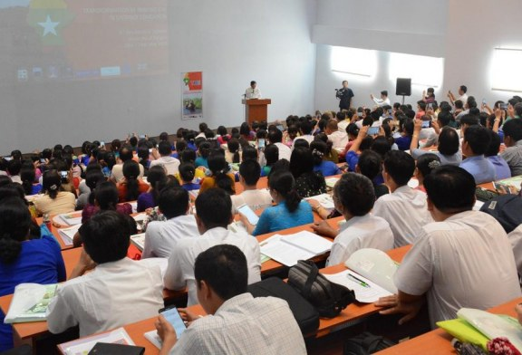 TIDE opens 3rd Residential School in Yangon University