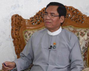 Deputy Minister for Information U Aung Hla Tun.