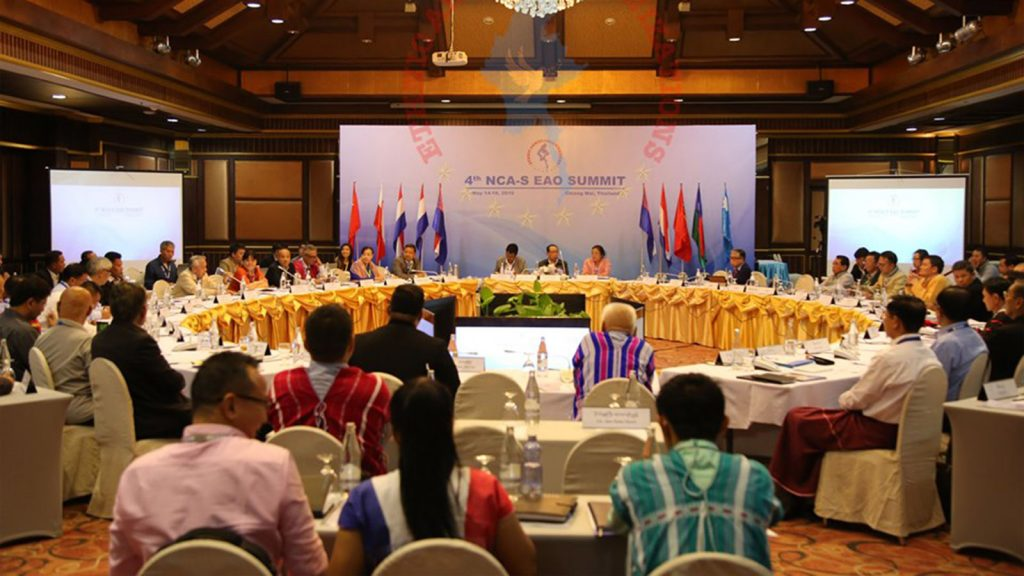 The 4th NCA-S EAO Summit held at Chiang Mai in Thailand yesterday. Photo: MNA