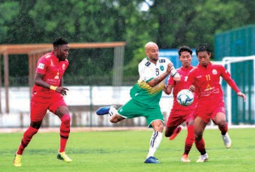 Yangon United beat Rakhine United 4-0 in Round 2 of MNL