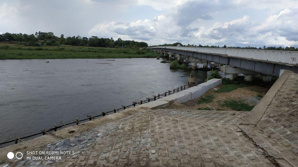 170 ft long Nga Moe Yeik  Creek Bridge seen on Ngarzu Taung- Kyar Einn- Kan Ne-Phaung Gyi Road in Hlegu Township, Yangon.Photo: MNA