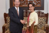 State Counsellor receives Special Envoy for Asian Affairs of the People's Republic of China
