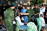 Senior General observes rendering healthcare services to local people