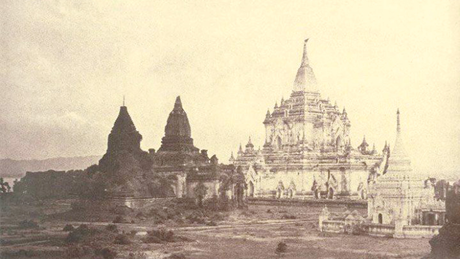 Pagodas in Bagan.  Photo: Supplied