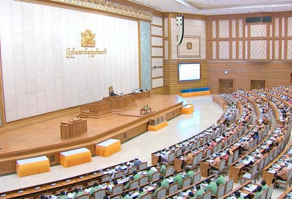 Pyidaungsu Hluttaw's 13th regular session holds third-day meeting